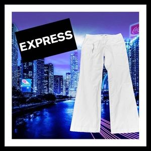 Express Stretch Straight Leg Pants